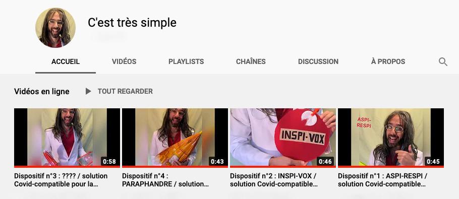 """Chaîne Youtube """"Cest très simple"""" #cesttressimple"""